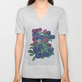 Worth Two Bird In A Bush Unisex V-Neck