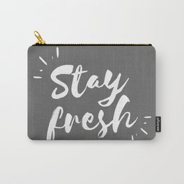 Stay Fresh - Gray Palette Carry-All Pouch