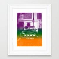 mini Framed Art Prints featuring Mini by Matt Wade