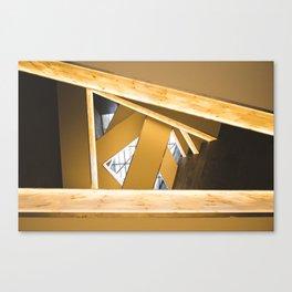 Lookup of Golden Bridges Canvas Print