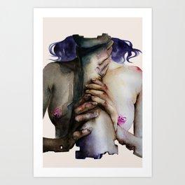 kinky fragments Art Print