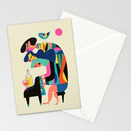 The Pianists Stationery Cards