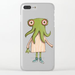 Sophia and Lucille Clear iPhone Case