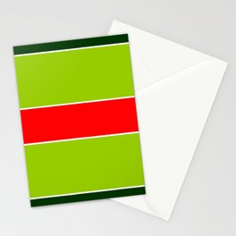 Horizontal stripes 6 Stationery Cards