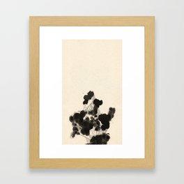 Sedate Two Framed Art Print