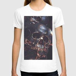 Black Gold Skull T-shirt