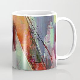 Touch right in the heart by your love Coffee Mug