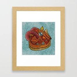 The Crystal Owl Framed Art Print