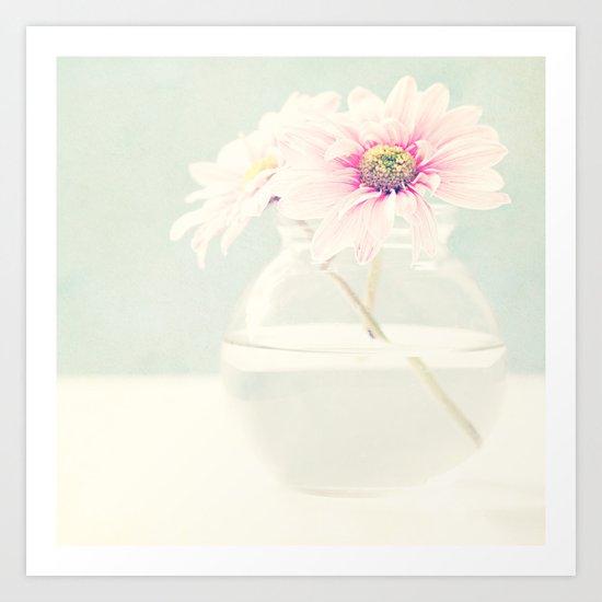 Soft flower. Art Print