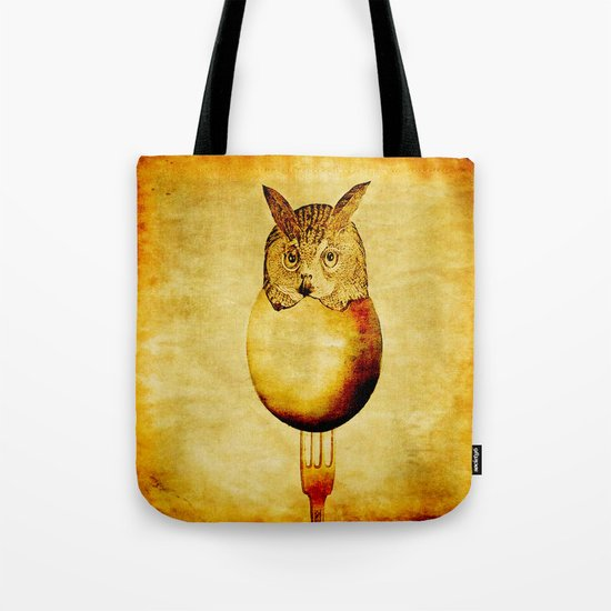 The hatching of owls Tote Bag