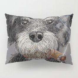 Fidel - The Havanese is the national dog of Cuba Pillow Sham