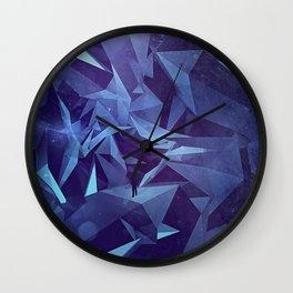 Polygon Jungle Wall Clock