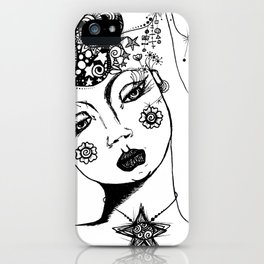 You Have No Clue What Is In My Head GRRL iPhone Case