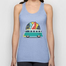 Surf Lover Unisex Tank Top
