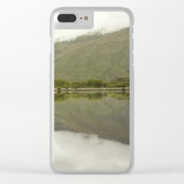 Reflections from Diamond Lake Clear iPhone Case