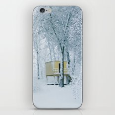snow covered iPhone & iPod Skin