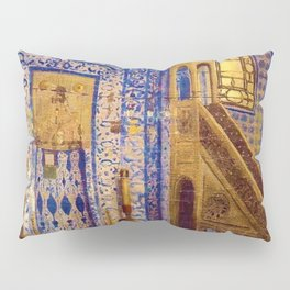 Islamic Masterpiece 'Interior of the Mosque' by Jéan Leon Gerome Pillow Sham