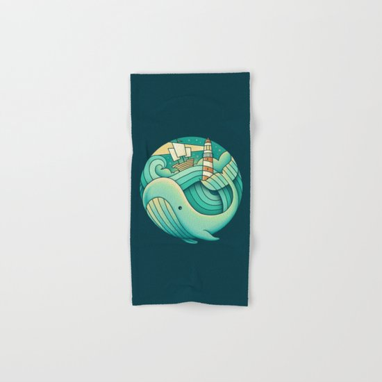 Into the Ocean Hand & Bath Towel