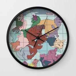 Cat Nations Wall Clock