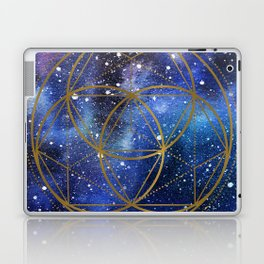 Space mandala Laptop & iPad Skin