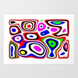 Ex nihilo #7 Art Print