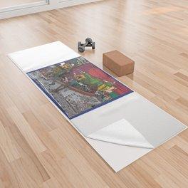 Jills Street - New York Yoga Towel