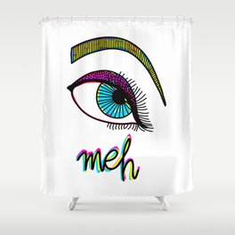 meh Shower Curtain