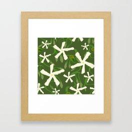 Jasmines & Junebugs Framed Art Print