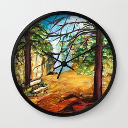 Woodland Beauty Wall Clock