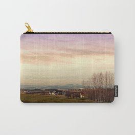 Beautiful panorama under a cloudy sky | landscape photography Carry-All Pouch