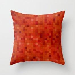 Lemonade mosaic Throw Pillow