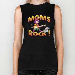 Moms Rock Large Biker Tank
