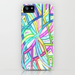 Candy Colored Clown Coils iPhone Case