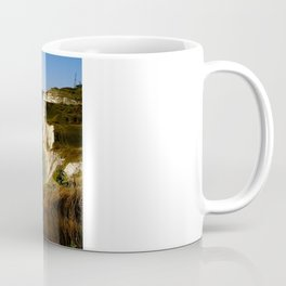 Dover Docks and the Famous White Cliffs Coffee Mug