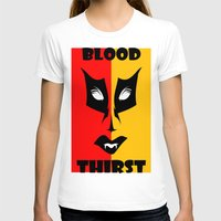 blood T-shirts featuring BLOOD  by Robleedesigns