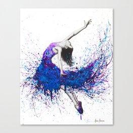 Evening Sky Dancer Canvas Print
