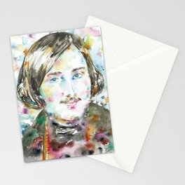 NIKOLAI GOGOL - watercolor portrait Stationery Cards