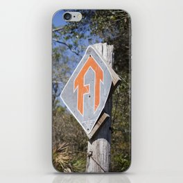 Florida Trail in Winter (unrecognizable weather in Florida) iPhone Skin
