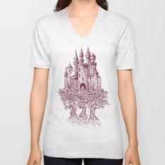 Castle in the Trees Unisex V-Neck