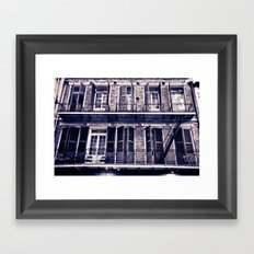 Rue Toulouse Framed Art Print