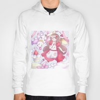 puppycat Hoodies featuring Bee & puppycat ver 2 by Kurodoj