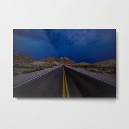 Endless Road Metal Print