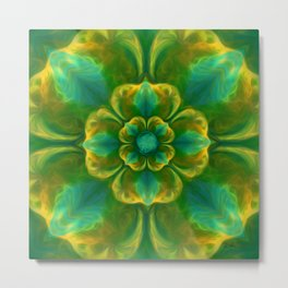 The Flower of Positivity  Metal Print
