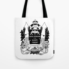 The Royal Kingdom of the Sleepy Forest Tote Bag