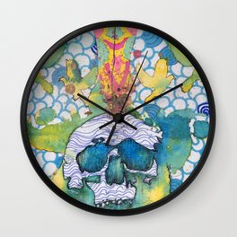 Expansion of the Mind Wall Clock