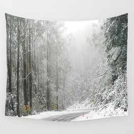 Down the Summit Wall Tapestry
