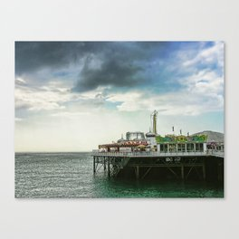 Brighton Pier, Brighton Hove UK Canvas Print