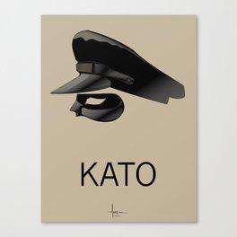 KATO Canvas Print