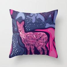 Musk Deer Throw Pillow