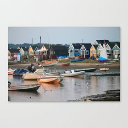 Huts in the Harbour Canvas Print